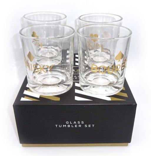 Set patru pahare whisky Monte Carlo