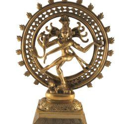 Shiva statueta din bronz