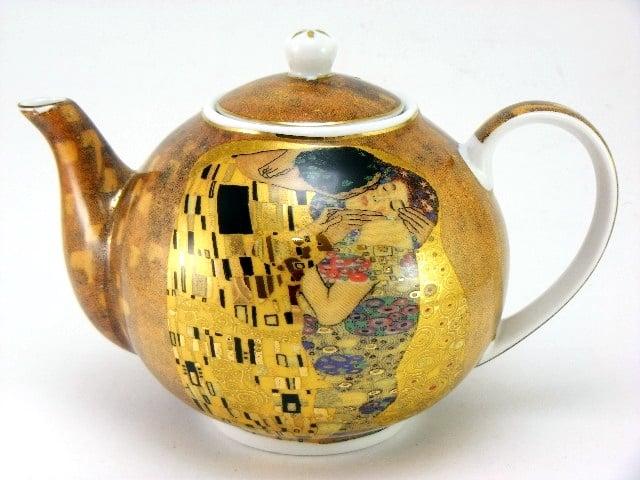 Ceainic de portelan din colectia Gustav Klimt