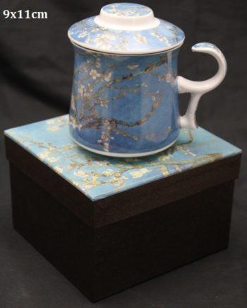 Cana de ceai infuzor Van Gogh