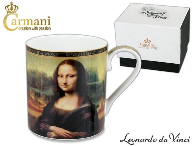 Cana de portelan fin Mona Lisa Leonardo da Vinci