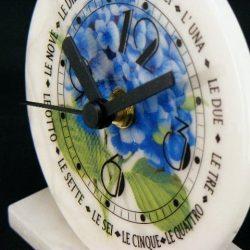 Ceas de birou din alabastru