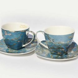 Cesti de cafea Vincent Van Gogh, prezentate in cutie de cadou