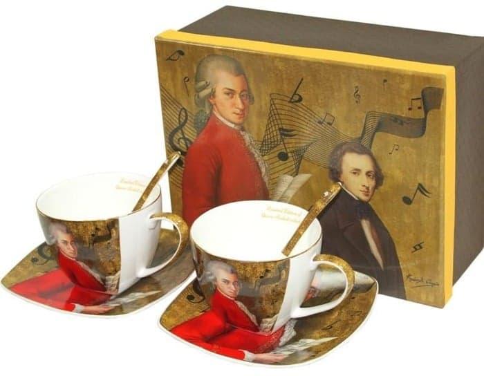 Cesti de portelan fin Mozart