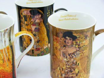 Patru cani Kiss Gustave Klimt