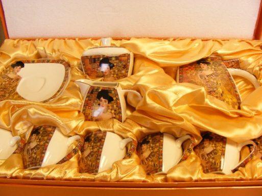Set de portelan complet Gustav Klimt