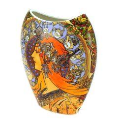 Vaza de portelan Alphone Mucha