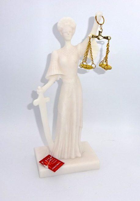 Zeita Justitiei din alabastru