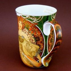 Cana de colectie Alfons Mucha 300ml