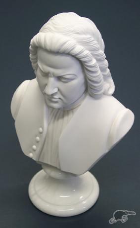 Bust alabastru Bach