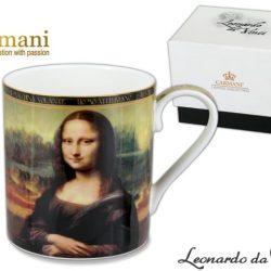 Cana Mona Lisa Leonardo Da Vinci 380ml
