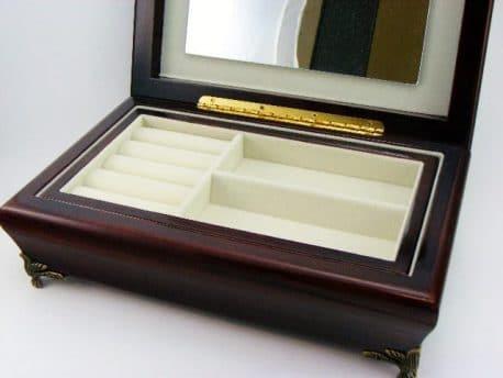 Caseta de bijuterii Alphonse Mucha