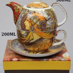 Ceainic ceasca Zodiac Alfons Mucha