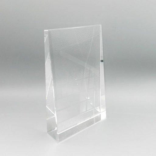 Foto cristal trofeu gravat cadou personalizat