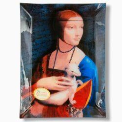 Platou de sticla Leonardo Da Vinci