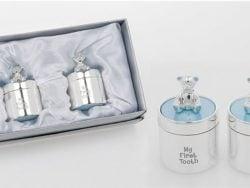 Cutiute argintate suvita dintisor ursulet bleu