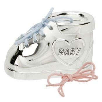 PGhetuta argintata pusculita pentru bebelusi