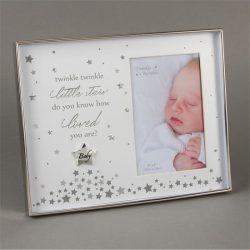 Rama argintata pentru bebelusi Twinkle