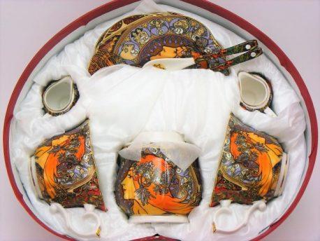 Set de portelan Zodiac Mucha