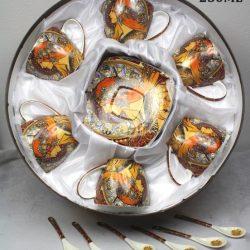 Set sase cesti cafea Alfons Mucha 250ml