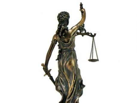 Zeita Dreptatii si Justitiei aspect bronz
