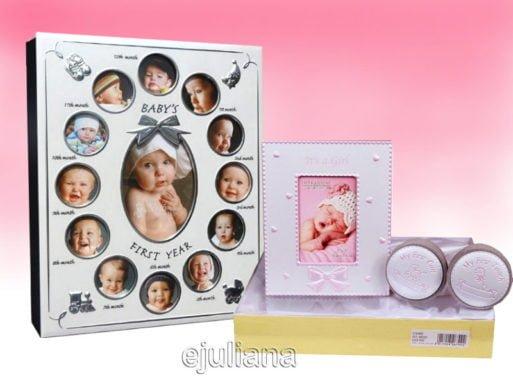 Album primul an set mot dintisor pentru fetita