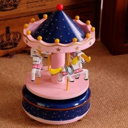Carusel muzical roz pentru fetita ejuliana
