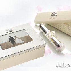 Caseta si suport pentru certificat de nunta Amore by Juliana,