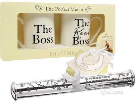 Cani Boss The Real Boss potcoava si suport de certificat