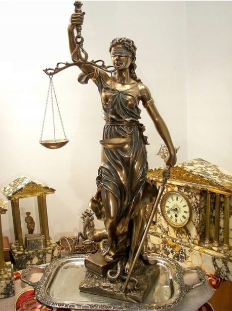Zeita dreptatii si Justitiei 50cm