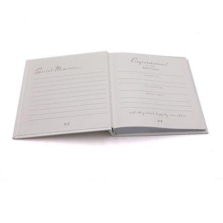 Album alb cu inele de nunta