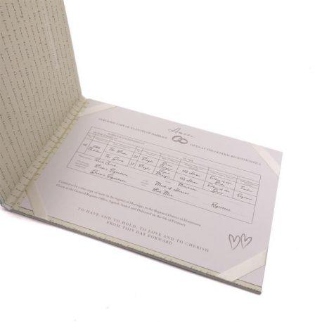 Suport pentru certificat carte