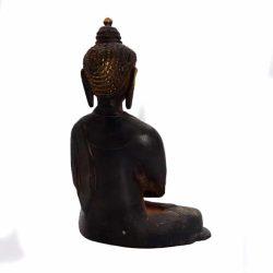 Statueta antichizata Buddha de bronz