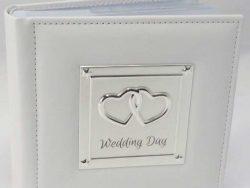 Album de nunta cu inimioare