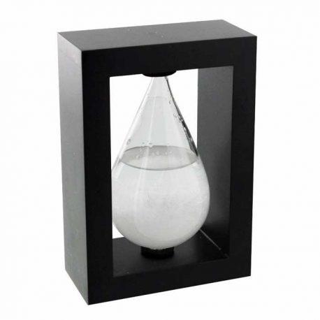 Glob sticla furtunii barometru natural, obiect decorativ functional pentru birou