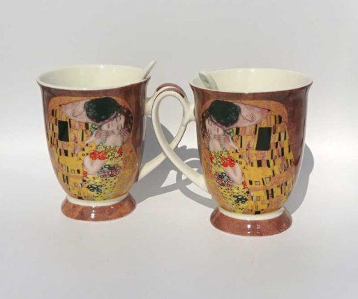 Cani pentru cuplu Kiss Gustave Klimt