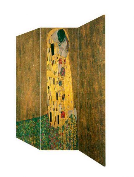 Paravan Gustave Klimt Kiss