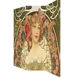 Paravan de panza canvas pictura Alphonse Mucha
