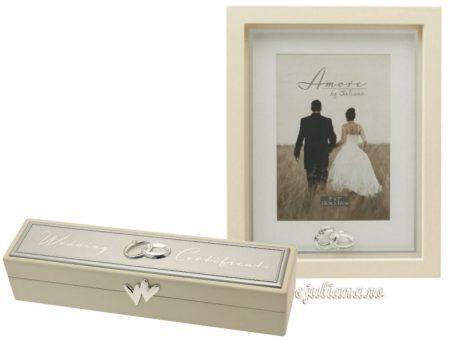 Caseta pentru certificat rama de nunta