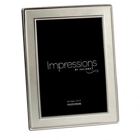 Rama argintata conturata Impressions 13x18cm