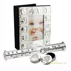 Album Baby dintisor suvita suport argintat Juliana