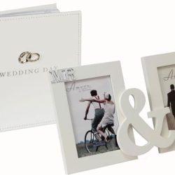 Album inele rama dubla pentru miri