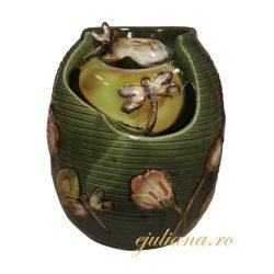 Fantana de ceramica cu libelule