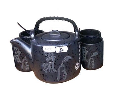 Set ceai cesti si ceainic oriental