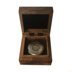 Busola Stanley London in cutie de lemn