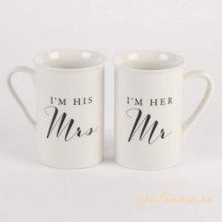 Cani pentru cuplu el si ea, cadou de nunta, logodna, aniversare