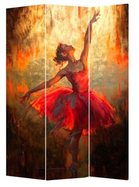 Paravan decorativ cu balerina