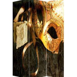 Paravan decor masca venetiana