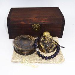 Bratara busola si Buddha pentru bogatie si prosperitate