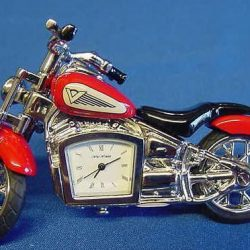 Motocicleta rosie ceas de birou Juliana